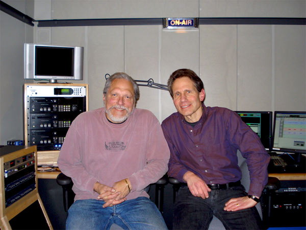 Dennis Elsas with Jorma Kaukonen