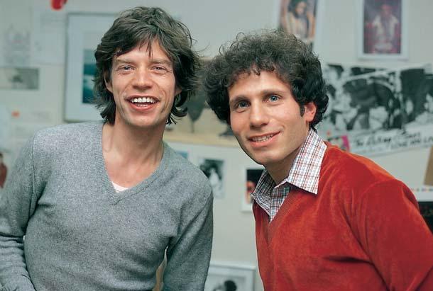 Dennis Elsas with Mick Jagger