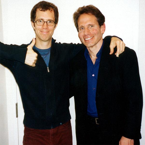 Ben Folds and Dennis Elsas