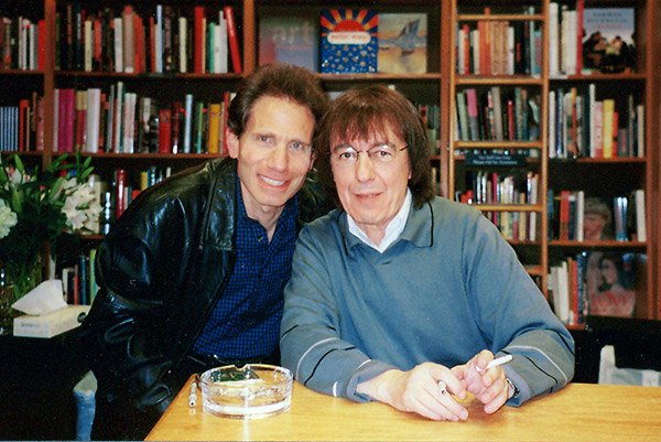 Dennis Elsas with Bill Wyman