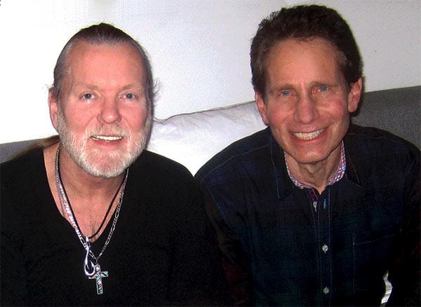 Dennis Elsas with Gregg allman