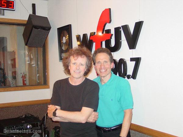 Dennis Elsas with Donovan
