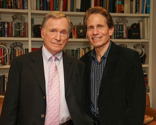 Dennis Elsas with Dick Cavett