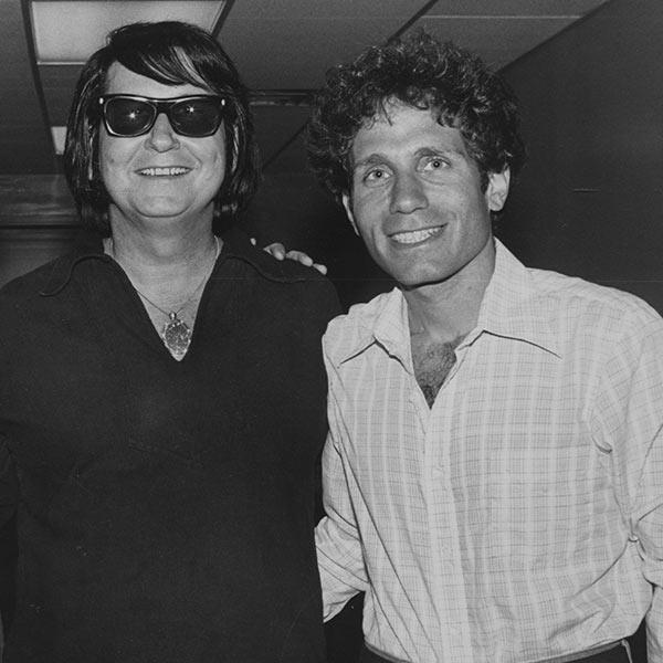 Dennis Elsas with Roy Orbison