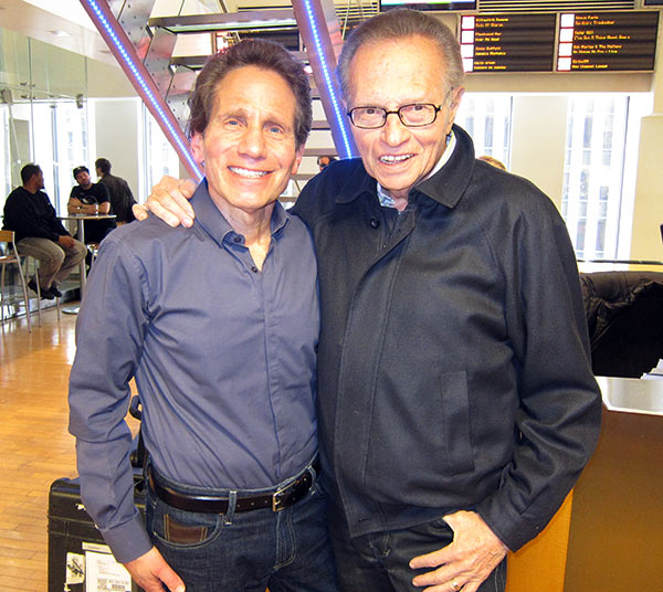 Dennis Elsas and Larry King