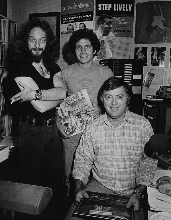 Dennis Elsas with Ian Anderson and Scott Muni