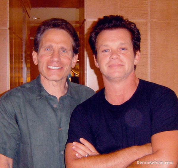 Dennis Elsas with John Mellancamp