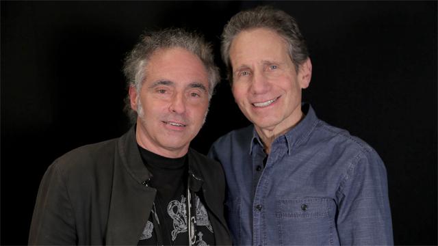 Dennis with Nils Lofgren