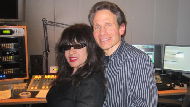 Dennis Elsas with Ronnie Spector