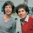 Dennis Elsas with Mick Jagger