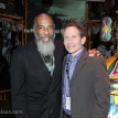 Dennis Elsas with Richie Havens