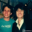 Dennis Elsas with Ron Wood