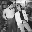 Dennis Elsas with Ronnie Lane