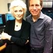 Dennis Elsas with Judy Collins