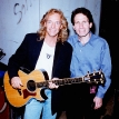 Dennis Elsas with Peter Frampton