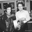Dennis Elsas with Grace slick