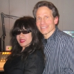 Dennis Elsas with Ronnie Spector