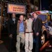 Dennis Elsas with Richie Havens, John Sebastian and Vernon Reid