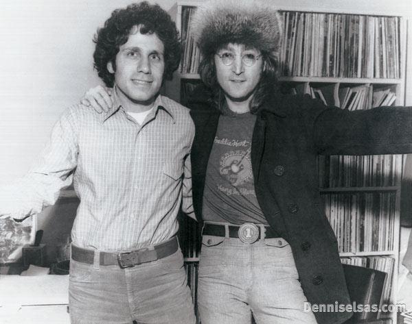 Dennis Elsas with John Lennon