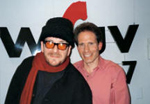 Dennis Elsas with Elvis Costello